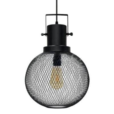 Kovové historické svietidlo závesné BLACK GLOBE je vhodné pre domáce osvetlenie, hotely, reštaurácie, kancelárie, komerčné osvetlenie a podobné prostredia