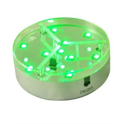 Podstavec LED s diaľkovým ovládaním, 10 SMD LED, 10cm