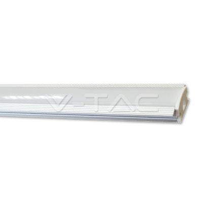 Hliníkový profil pre LED pás, mliečny kryt, 1 meter vysokej kvality od renomovaného výrobcu V-TAC, certifikovaný pre použitie