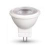 LED žiarovka GU5.3:MR16 dokáže nahradiť 20 – 25W klasickú žiarovku, ktorej výdrž a živnotnosť je na veľmi malej úrovni oproti LED