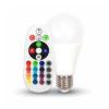 LED žiarovka RGB s ďialkovým ovládaním