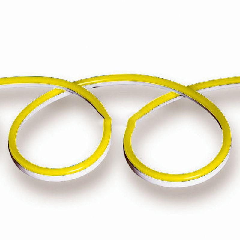 NEON FLEX, 24V, Žltá farba, 10 metrové balenie