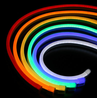 Neon Flex nahradzuje klasické neónové osvetlenie