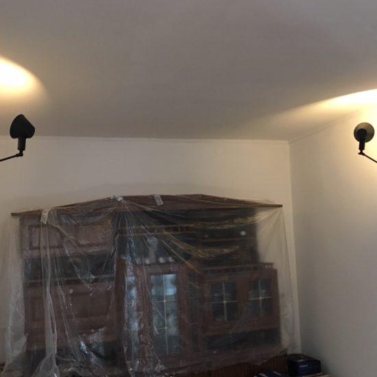 Pri realizácií klienta boli svietidlá použité v bežnej domácnosti do jedálňe.