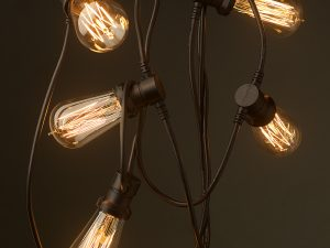 Edison žiarovky a dekoračné osvetlenie