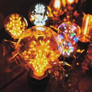 Rozprávková žiarovka z kolekcia FIREWORKS