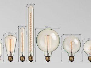Vintage žiarovky EDISON