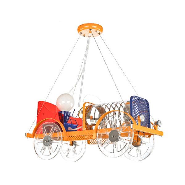 Detské závesné svietidlo v tvare starého automobilu (3)