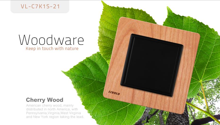 Luxusné mechanické vypínače v drevenom prevedení. Tieto elegantné vypínače v elegantnom vzhľade sa používajú na ovládanie svetla 2 - Luxusný mechanický vypínač č.5B v drevenom prevedení