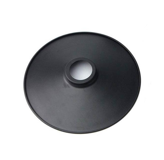Retro tienidlo v čiernej farbe, 22cm