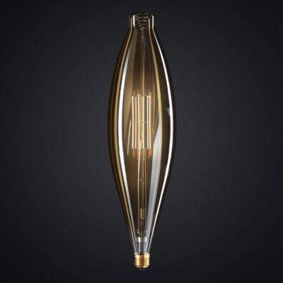 Edison Soft žiarovka, Mallet, E27, 1000lm, 11W, Teplá biela, stmievateľná (1)