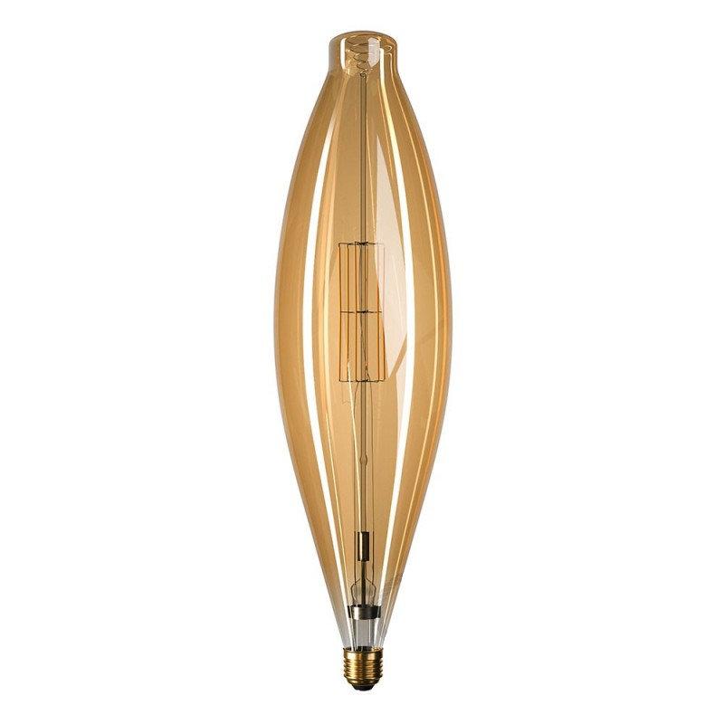 Edison Soft žiarovka, Mallet, E27, 1000lm, 11W, Teplá biela, stmievateľná