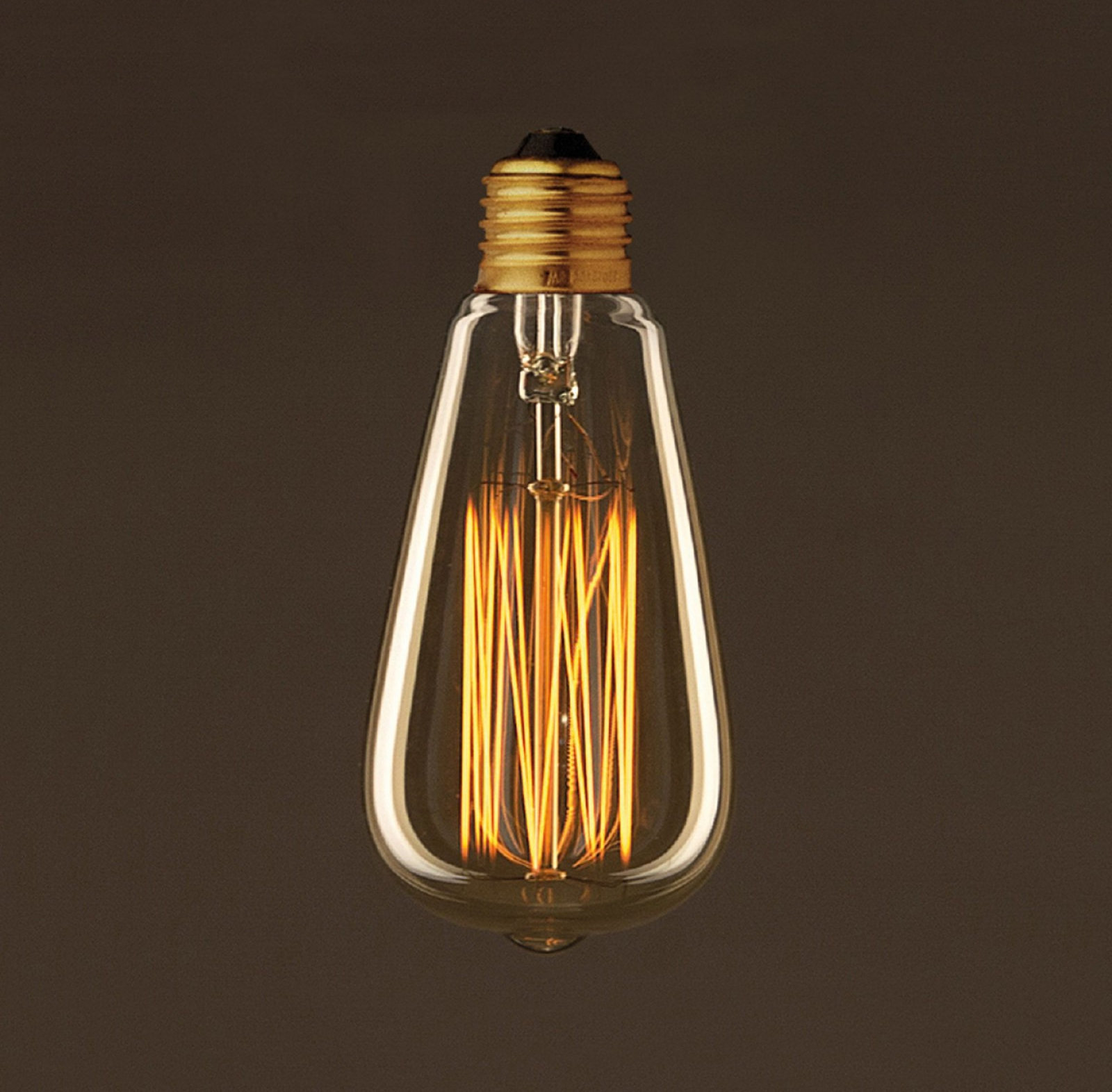 EDISON žiarovka - TEARDROP - E27, 30W, 60lm (2)