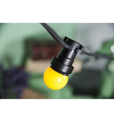 PVC elektrický kábel pre Svetelné šnúry v čiernej farbe, 5mm, IP44, 10 metrov (2)