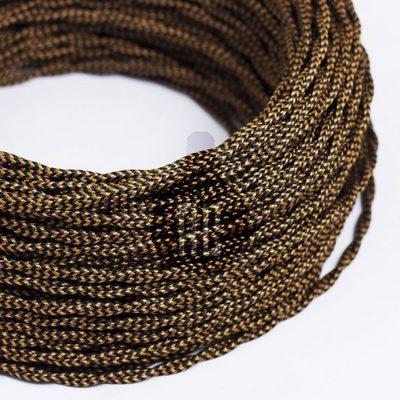 Kábel dvojžilový v podobe textilnej šnúry so vzorom, Whiskey, 2 x 0.75mm, 1 meter (2)