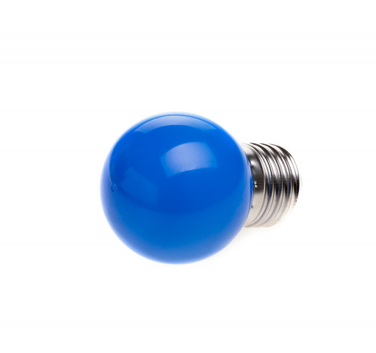 LED Dekoratívna žiarovka pre svetelné šnúry a reťaze, E27, 1W, Modrá farba (2)