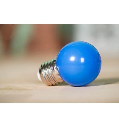 LED Dekoratívna žiarovka pre svetelné šnúry a reťaze, E27, 1W, Modrá farba (3)