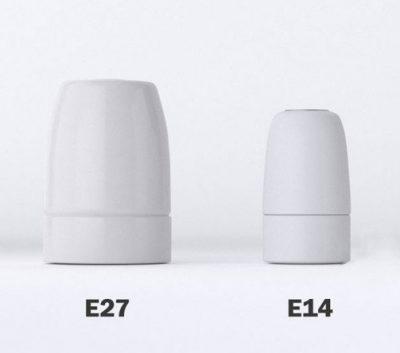 Telo, vyrobené výhradne z porcelánu dodáva objímke silu a eleganciu a vytvára jemnú atmosféru vo vašej izbe