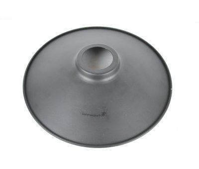 Retro kovové tienidlo v matnej čiernej farbe, priemer 22cm - 2.AKOSŤ – Kozmetická vada (1)