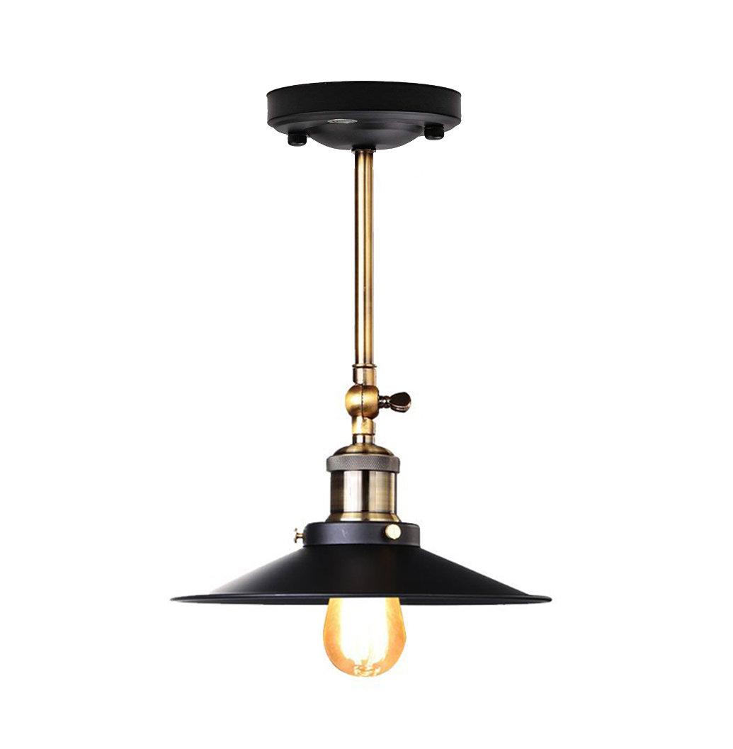 Stropné a nástenné historické svietidlo s tienidlom 22cm (2)
