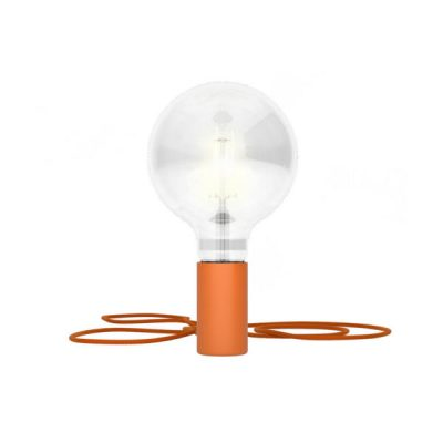 Magnetické svietidlo Magnetico®-Plug, pomarančová farba (1)