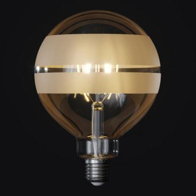 LED žiarovka Filament - Tattoo Lamp® Saturn, 4W, E27, 420lm (2)