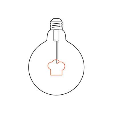 MASTERCHEF kuchynská žiarovka CAP, Teplá biela, 4W, 130lm (2)