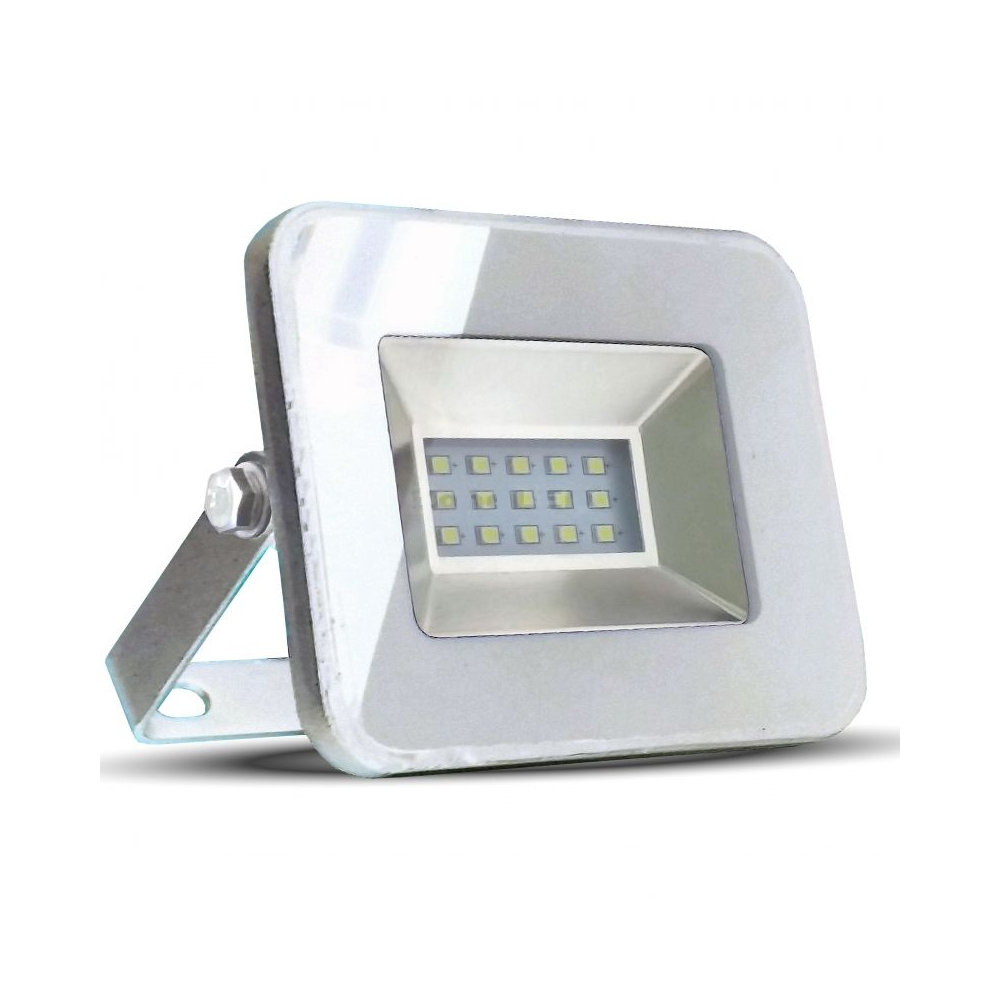 10W LED Reflektor, biela farba, Studená biela, 6000K, 850lm