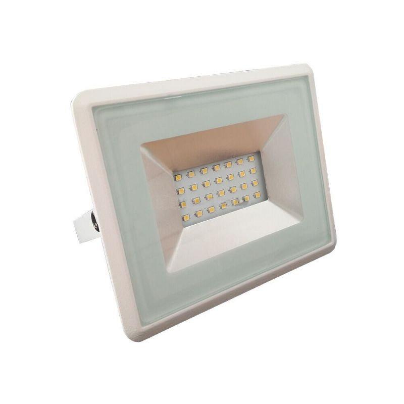 20W LED Reflektor, biela farba, Studená biela, 6500K, 1700lm