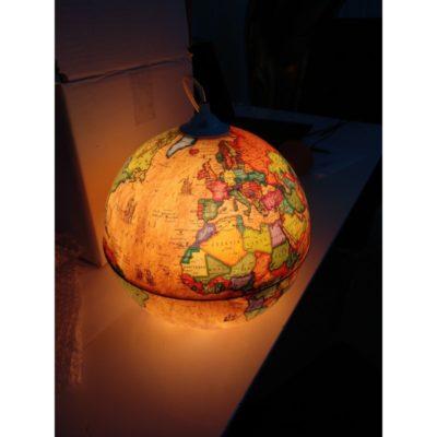 Kreatívne závesné svietidlo GLOBUS (4)
