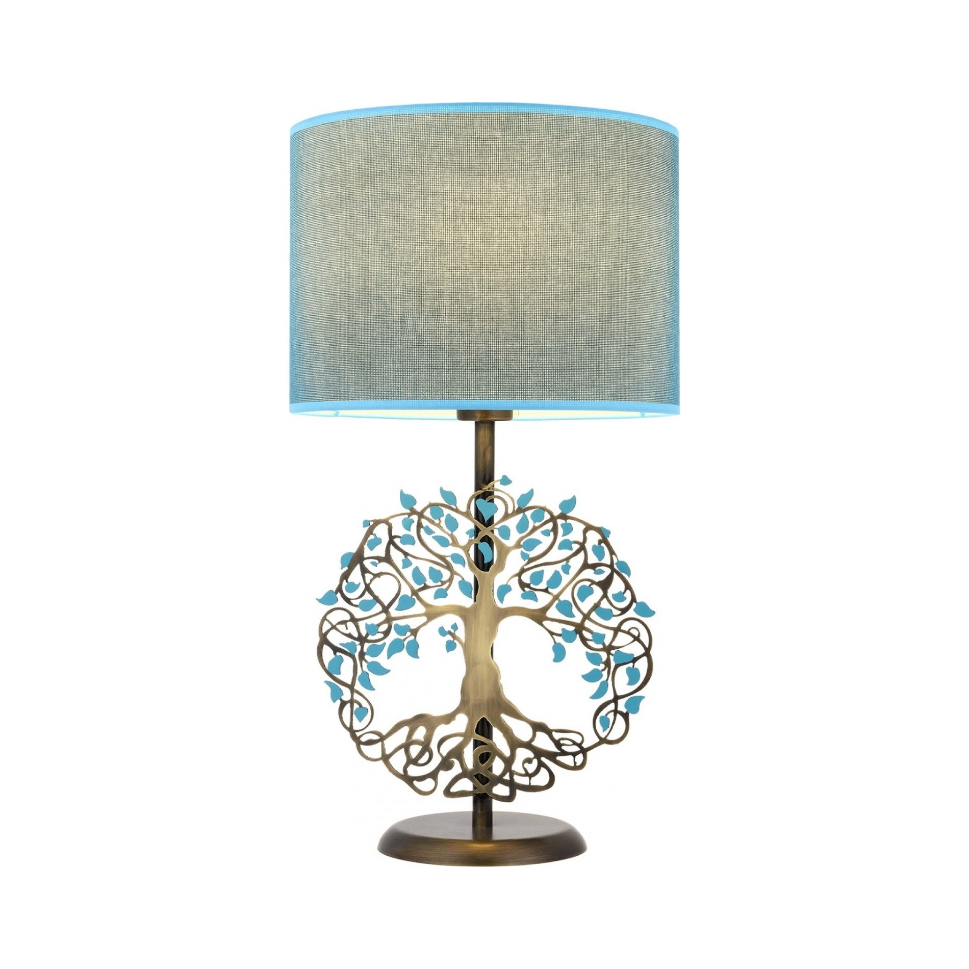 Moderná kreatívna stolová lampa STROM ŽIVOTA nažiarovkutypu E27. Táto kreatívna stolová lampa je v dizajne Stromu života