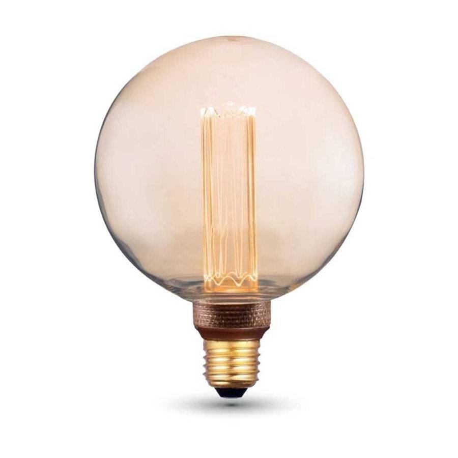 Dekoračná FILAMENT žiarovka - SPHERE - E27, Teplá biela, 4W, 200lm