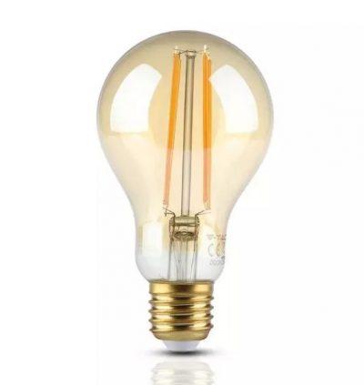 FILAMENT žiarovka – Gold Classic – E27, 12.5W, 1240lm, Teplá biela