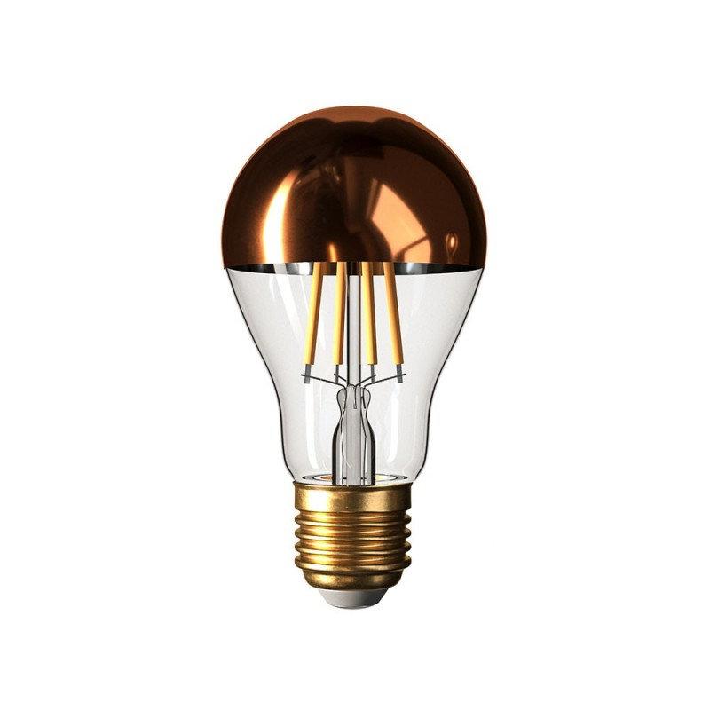 Zrkadlová dekoračná žiarovka 7W, E27, 806lm, CLASSIC, Medená, Stmievateľná (1)