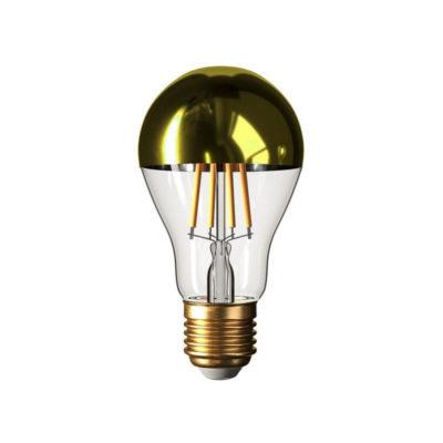 Zrkadlová dekoračná žiarovka 7W, E27, 806lm, CLASSIC, Zlatá, Stmievateľná | Daylight Italia