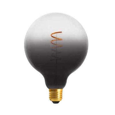 Edison Soft žiarovka BLACK-TRANSPARENT SPHERE - E27, 4W, 150lm, Stmievateľná (2)
