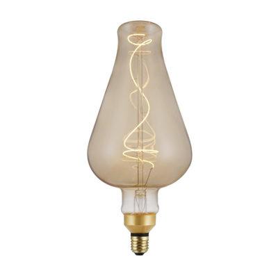 Vintage Filament žiarovka DEMIJOHN, zlatá - 5W, E27, 250lm, Stmievateľná, Teplá biela