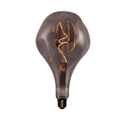 Vintage Filament žiarovka Elegance, dymová - 5W, E27, 150lm, Stmievateľná, Teplá biela