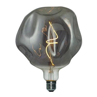 Vintage Filament žiarovka LUXURY, dymová – 5W, E27, 150lm, Stmievateľná, Teplá biela | Daylight Italia