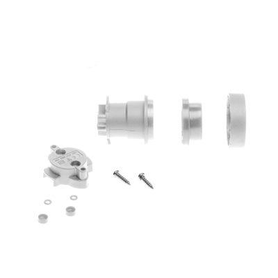 Biela E27 objímka z termoplastu pre Svetelné šnúry2, IP44