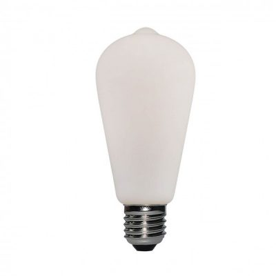 LED porcelánová žiarovka ST64 6W E27 | Daylight Italia