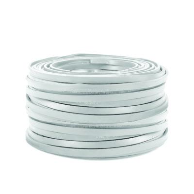 PVC elektrický kábel pre Svetelné šnúry v bielej farbe, 5mm, IP44