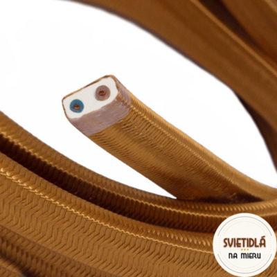 textilný-elektrický-kábel-pre-svetelné-šnúry-potiahnutý-hodvábnou-textíliou-cm22-whisky-1