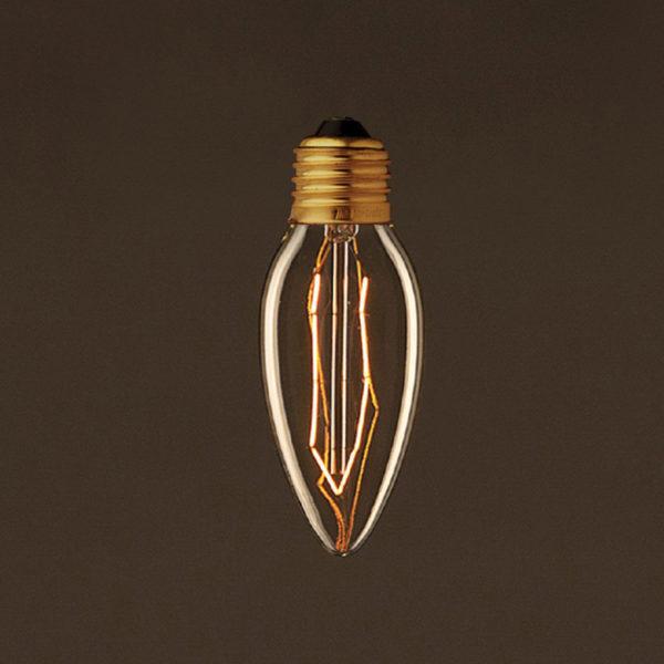 EDISON žiarovka - CANDLE - E27, 25W, 60lm v historickom štýle