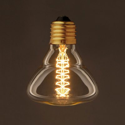 EDISON žiarovka - SPIRAL VINTAGE - E27, 25W, 60lm | Amarcords