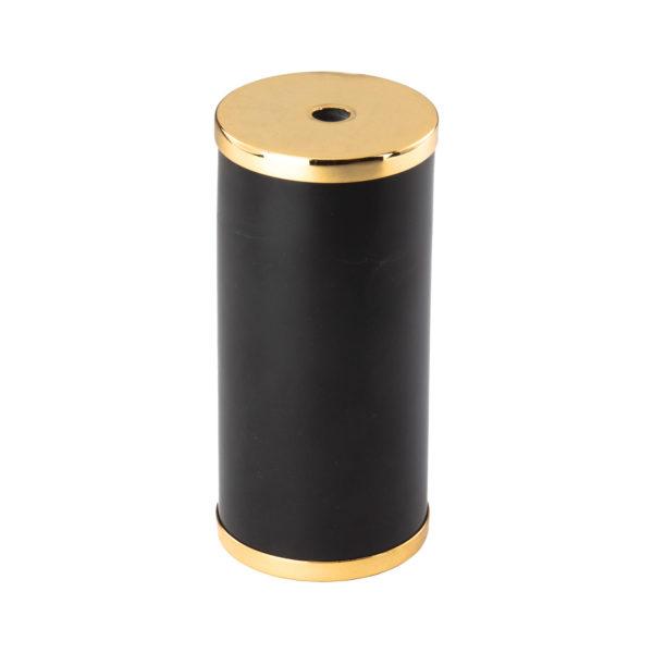 Luxusná mramorová objímka E27 s bakelitovou vložkou čierna:zlatá farba | Amarcords