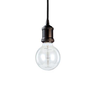 Retro visiace svietidlo FRIDA SP1 v čiernej úprave | Ideal Lux