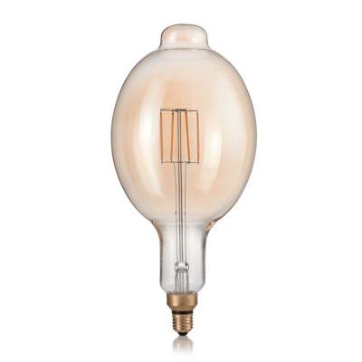 XXL žiarovka, VINTAGE XL, E27, 4W, BOMB, 320lm, Teplá biela | Ideal Lux