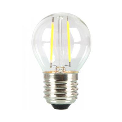 MINI FILAMENT žiarovka so SAMSUNG čipom, E27, Teplá biela, 4W
