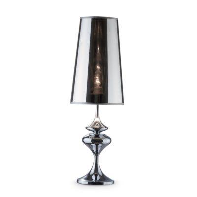 Stolové svietidlo ALFIERE TL1 BIG v chrómovej farbe | Ideal Lux
